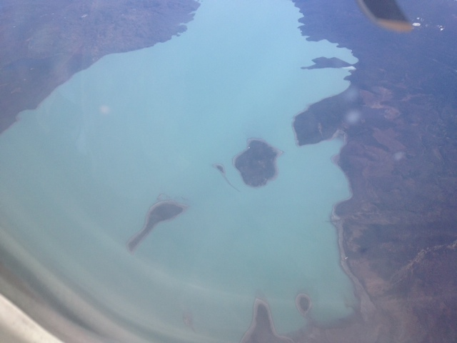 Bird's Eye View of Skilak Lake